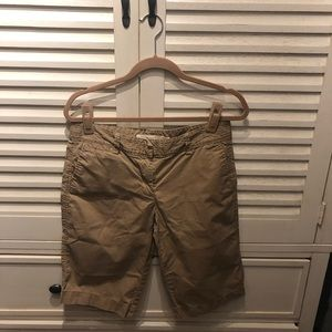 JCrew broken in chino khaki Bermuda-6